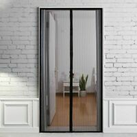 Magnetic Mesh Net Screen Door with 26 magnets Anti Mosquito Bug Curtain US