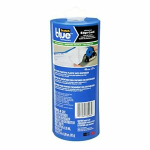 ScotchBlue Pre-taped Painter's Plastic Unfolds to 48-Inches by 30-Yard