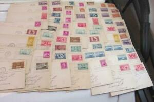 60 Plus First Issue stamps,Navy Stamps 1 Red Cross,Indian centennial,1946 - 1948