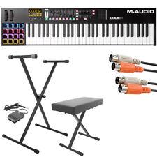 M-Audio Code 61 61-Key Usb/Midi Keyboard Controller with X/Y Touch Pad + Bundle