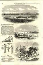 1855 Russian Submarine Infernal Machines Explodes Exmouth