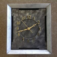 One Quartz Wall Clock Battery Operated Home Office, With second hand.