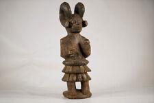 "Igbo Ikenga Warrior African Statue 17"" | Nigeria"