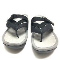 BareTraps Womens Black Simmons Thong Flip Flop Slides Sandal Size 8.5 M Us