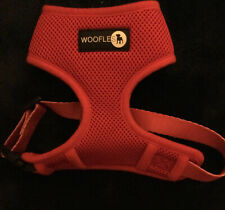 More details for red woofles harness size small