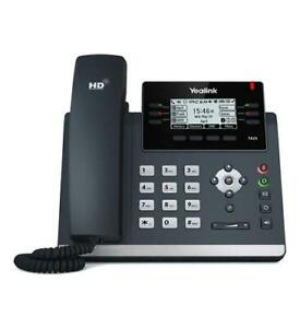 Yealink SIP-T42S 12 Lines 2.7 Inch Graphical Display IP POE Phone