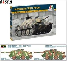 JAGDPANZER 38(T) HETZER Decals For 4 Versions Italeri No.6531 1/35 Model Kit New