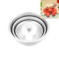 3D Silver Aluminum Alloy Ball Sphere Cake Baking Mold Tin Kitchen Bakeware-Set