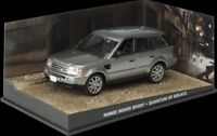 JAMES BOND COLLECTION - RANGE ROVER - QUANTUM OF SOLACE  -DIARAMA DISPLAY- 1:43