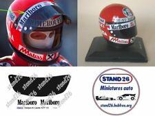 Decals marlboro casque caschi casco helmet Lauda 1977 pour Centauria Spark 1/5