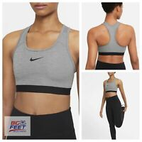 Size Large NIKE Women Swoosh DRI-FIT Med Support Sports Training Bra BV3902 084