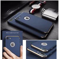 Coque Etui PC Protection Rigide pour Smartphone Apple iPhone 7 Plus / Mat Bleu