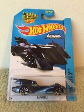 New 2013 Hot Wheels City Bat Mobile Black