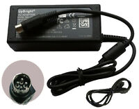 4-Pin AC Adapter For Dell D3000 WMGHV Super Speed Docking Station Power Supply