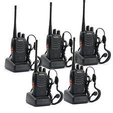 Walkie Talkie Way Radio Two Frs Gmrs Mile PC Programming Motorola Radios 5 Pack
