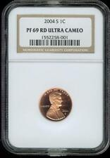 2004 S Lincoln Cent NGC PF 69  RD Ultra Cameo