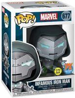 Funko Pop Infamous Iron Man #677 Comicfest Previews Exclusive Limited Edition