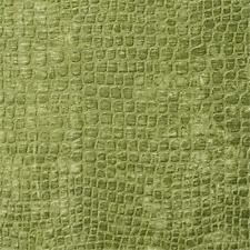 Designer Fabrics K0151A 54 in. Wide Lime Green Textured Alligator Shiny Woven.