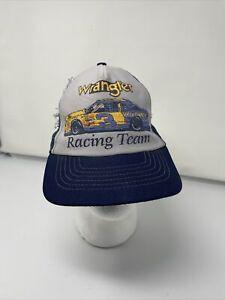 Vintage Wrangler Racing Team Dale Earnhardt Sr #3 NASCAR Cap Hat Blue Gray Jeans
