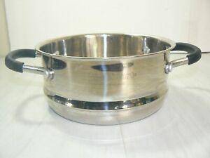 Cuisinart HW-86116-18 Steamer Strainer Insert 7.5 inch Silicone Handles