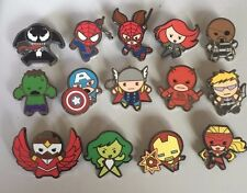 Disney 2015 Marvel Mystery Kawaii Art Collection COMPLETE 14-Pin Set! N3W! HOT!!