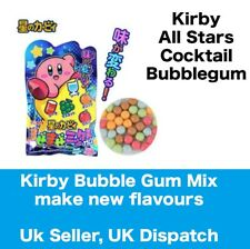 Kirby Cocktail Bubble Gum Pack - Japanese candy Chew 2 or more for new flavours