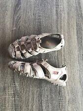 SKECHERS Womens Athletic Sport Hiking Slip On Hiking Water Sandals Tan Size 6