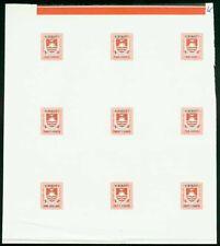 Kiribati 1981 Postage Due set COMPOSITE PROOF SHEET-8