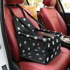 Portable Dog Car Seat Belt Booster Travel Carrier Folding Bag Cat Puppy Pets US