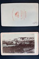 Fellot, France, Angoulême, vue générale Vintage cdv albumen print CDV, tirage