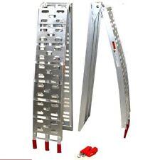 1 Stück Auffahrrampe 06142 Auffahrschiene ALU RAMPE klappbar 340kg 9C Fahrrampe