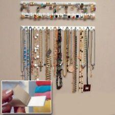 9pcs/set Jewelry Wall Hanger Necklace Earring Holder Multi-function Rack Hook