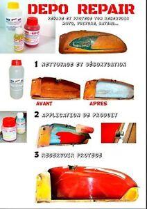 Traitement de réservoir Depo Repair resine jusqu'a 11 litres (Tankerite)