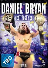 DANIEL BRYAN-JUST SAY YES! YES! YES! 3 DVD NEW