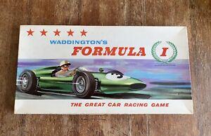 FORMULA 1 BOARD GAME 1962