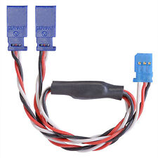 Servo Y Cable Futaba 0.34 M2 Twisted Silicone 11 13/16in partcore 130024