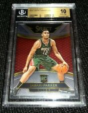 JABARI PARKER 14-15 SELECT RARE COURTSIDE ROOKIE RC WIZARDS BGS 10 PRISTINE