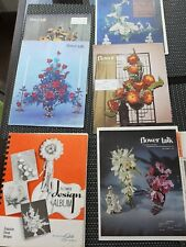 New listing Flower Arranging Vintage Books Manuals 1970s Store Operations