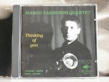 MARCO TAMBURINI QUARTET - THINKING OF YOU CD NEAR MINT