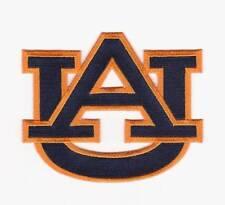 AUBURN TIGERS TEAM LOGO FOOTBALL JERSEY PATCH SEC COLLEGE NCAA BLUE  AU ORANGE B