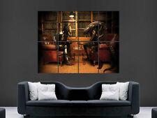 ALIEN VS PREDATOR SCACCHI Libreria Muro Art Immagine grande POSTER GIGANTE