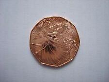 Austrian UNC Collection Copper Coin 5 Euro 2012 Viennese Waltz RARE