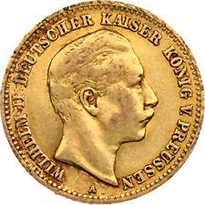 N315) J.251 PREUSSEN 10 Mark 1898 A Wilhelm II 1888-1918 Gold