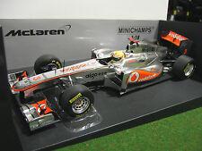 F1 McLAREN MP4-26 HAMILTON 2011 formule 1 VODAFONE au 1/18 MINICHAMPS 530111803