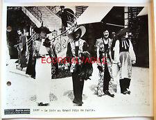 PHOTO MODE AUX COURSES DE CHEVAUX ROBES et CHAPEAUX PARIS SOIR 1936 c6
