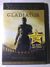 Gladiator (Dvd, 2003) Russell Crowe ~ Brand New, Factory Sealed ~ Free Shipping!