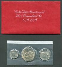 USA Bicentennial Silver Uncirculated Set 1776-1976 Sealed in Original Envelope