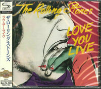 THE ROLLING STONES-LOVE YOU LIVE-JAPAN 2 SHM-CD F00