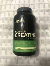 optimum nutrition micronized creatine powder 300g, 60 servings