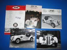 N°11243 /  SBARRO : ensemble de documents replica BMW 328   1975-1977